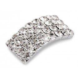 2 boucles cristal pour chaussures, boucles strass diamant