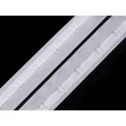 Bande agrafes métal 25mm pour corset, bustier, gaine serre-taille