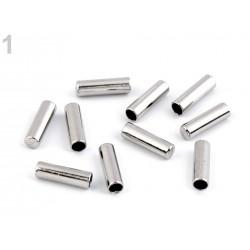 2 embouts de corde métal 4mm, stop cordon, finition cordelette