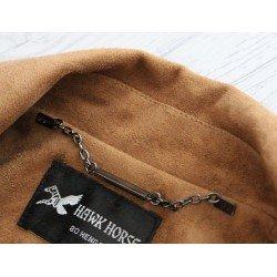 Chaîne décorative 12 cm avec oeillets / argent, or, argent noirci / Chaîne accroche veste, chaîne maroquinerie