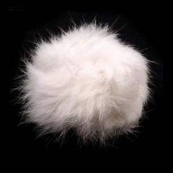 Pompon fausse fourrure 4-6 cm