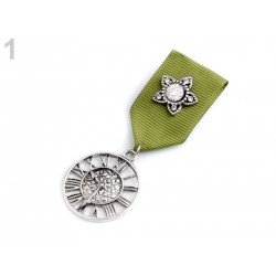 Pin's broche effet médaille militaire décoration