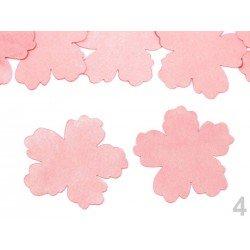 10 pétales ciselées en satin 5cm / Nombreux coloris / Création de fleurs