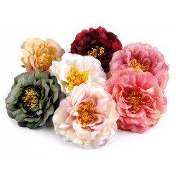 Grosse fleur tissu 10cm / Nombreux coloris / Fleur avec subtils dégradés, pour pince cheveux ou broche fleur, fleurs pour décora