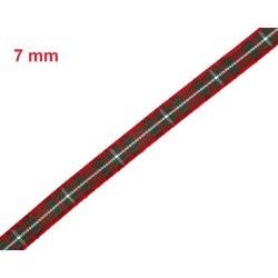 Ruban tartan écossais MacGregor / Toutes largeurs / Ruban écossais, ruban à carreaux, ruban plaid
