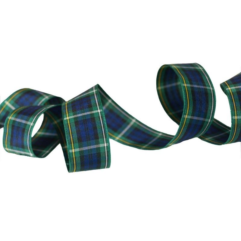 Ruban tartan écossais Campbell / Toutes largeurs / Ruban écossais, ruban à carreaux, ruban plaid