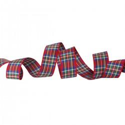 Ruban tartan écossais Royal Stewart / Toutes largeurs / Ruban écossais, ruban à carreaux, ruban plaid
