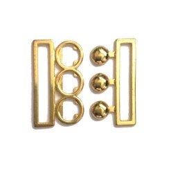 Boucle ceinture métal / or, argent, noir/ 38 ou 50 mm / boucle a clipser, fermoir de ceinture, fermeture a cran, clip fermoir