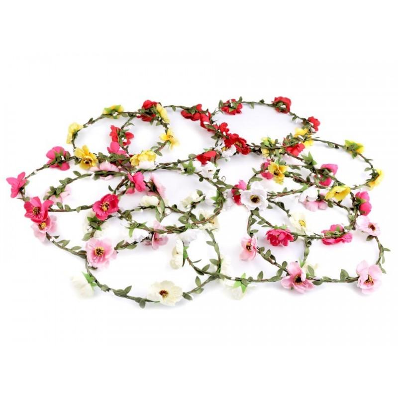 Couronne de fleurs mariage / Nombreux coloris / Headband fleuri pour mariage champ?tre, naturel, romantique, vintage