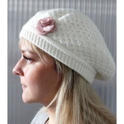 2 fleurs en laine feutrée 5 cm / Nombreux coloris / Fleurs en feutre, décoration bonnet et chapeau, fleur en tissu