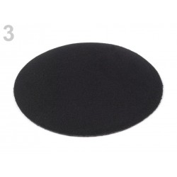Base bibi fascinateur chapeau 12cm / Calot en feutre pour création de bibis, chapeaux, fascinateurs