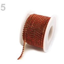 Chaine de cristal 2,6 mm
