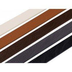 Bandoulière anse de sac en simili cuir grainé 120 cm  / anses de sac en cuir, lanière de sac, sangle cuir