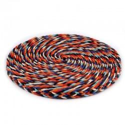 Corde tressée multicolore 18 mm