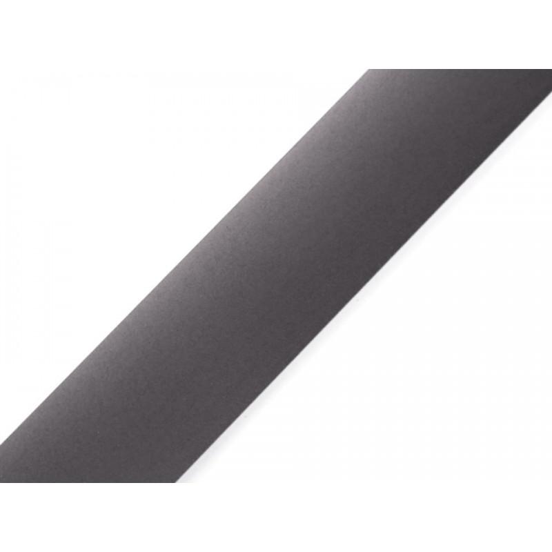 Bande réflechissante noire à thermocoller / Bande fluorescente, attire la lumière, brassard de visibilité