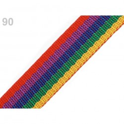 90 - Sangle 30 mm polypropylene multicolore