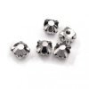 10 strass diamants a coudre 5 mm ANTHRACITE