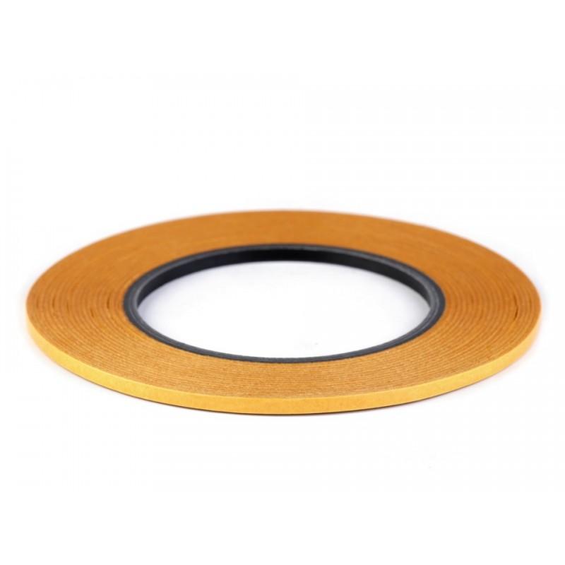 Ruban adhésif double face transparent Stylefix 4mm pour tissu / Fixation ruban, étiquettes, applications, broderie machine, appl