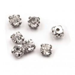 100 petits diamants a coudre 5 mm