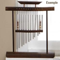 4 tubes pour carillon à vent, carillon éolien, carillon suspendu, furin japonais / Suspension pour attrape rêves