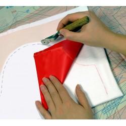 Roulette de traçage pour reproduction de patrons / roue dentelée pour marquage tissu