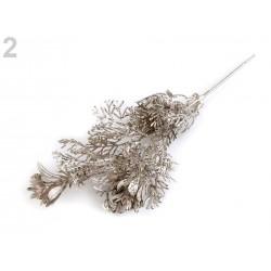 Branche eucalyptus artificiel 22cm / Décoration Noël, Couronne de l'Avent