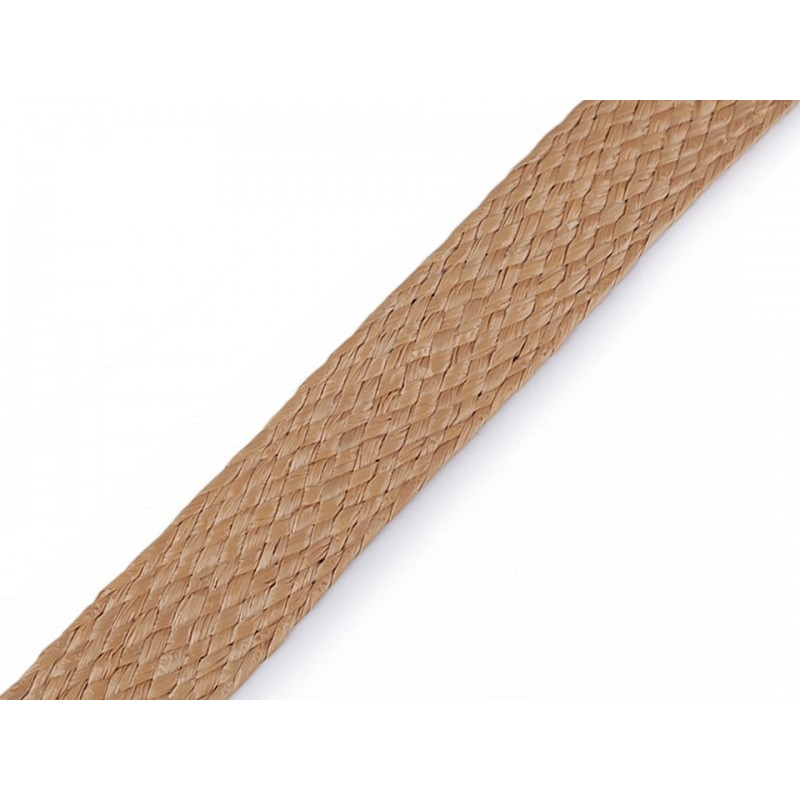 3M sangle polypropylène 30 mm imitation paille tressée / Sangle naturelle, anses de sac, ceintures, cabas, besaces