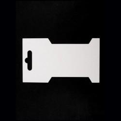 20 cartonnettes 6,6 x 11,5 cm pour fil, ruban, cordon, etc