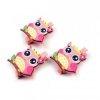 3 mini pinces à linge chouette hibou