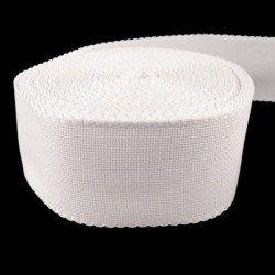 Bande 70 mm toile aida blanc