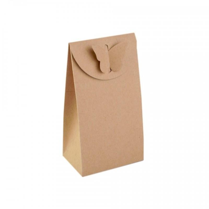 sac cadeau 8 x 15 cm fermeture papillon