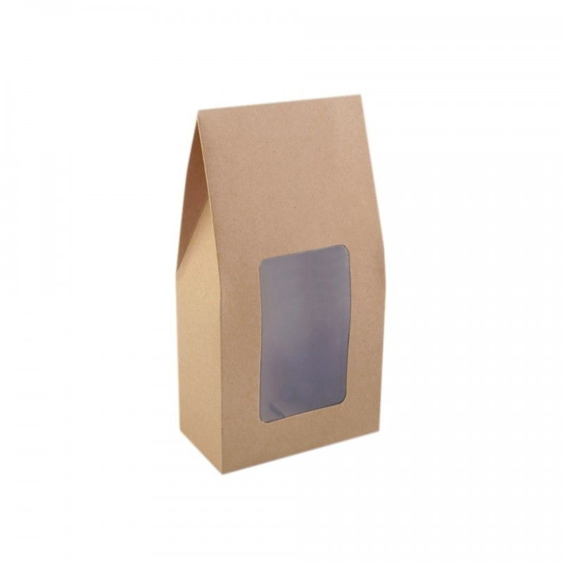 sac cadeau 11 x 21 cm fenetre cristal