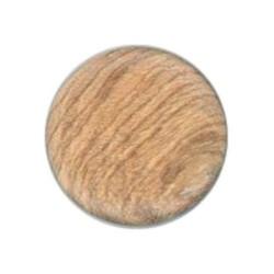 5 boutons en bois 16 mm boucle au dos