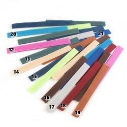 4 Bandes de velcro nylon scratch 2 x 20 cm