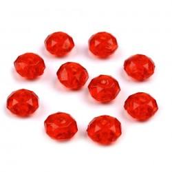Perles a facettes 5 x 8 mm