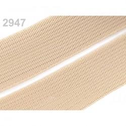 Bande élastique 2 cm - 25 couleurs