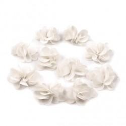 10 fleurs en voile