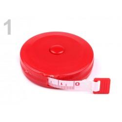 Metre rétractable rouge 150 cm