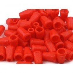 20 embouts corde plastique