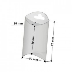 10 boites berlingot plastique