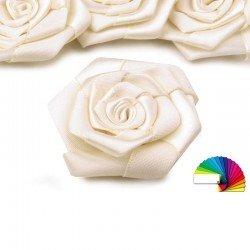 3 roses satin 5 cm