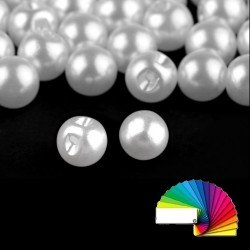 20 boutons boules 8 mm
