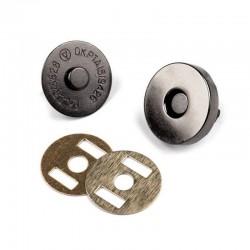 Fermoir magnétique métal aimanté