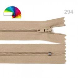 Fermeture éclair 35 cm non séparable 3 mm
