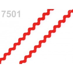 Croquet ric rac serpentine 4 mm