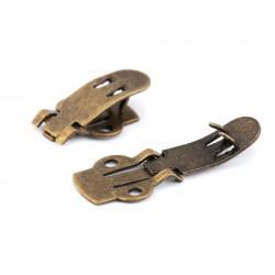 2 clips en métal