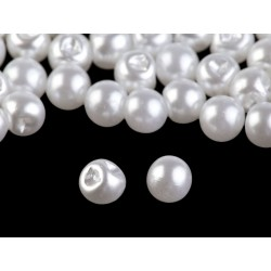 20 boutons boules 6 mm