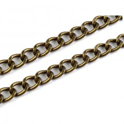 Chaine argent  5 mm 120 cm