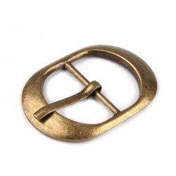 Boucle ceinture 25 mm bronze