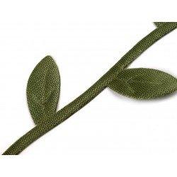 3 M Guirlande de feuilles satin 25 mm
